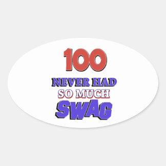 100 diseños años colcomanias ovaladas