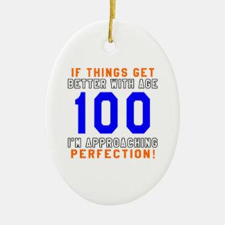 100 diseños del cumpleaños de la perfección adornos