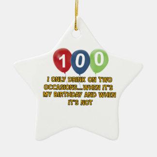 100 diseños del cumpleaños de los años adorno