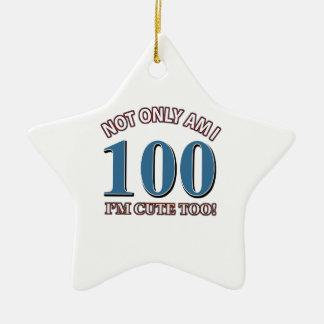 100 DISEÑOS DEL CUMPLEAÑOS DE LOS AÑOS ORNAMENTO DE NAVIDAD