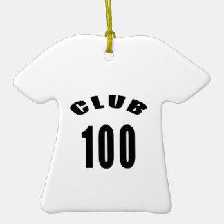 100 diseños del cumpleaños del club ornamento para reyes magos