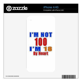100 diseños del cumpleaños skins para eliPhone 4S