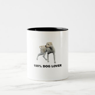 100% Dog Lover Mug