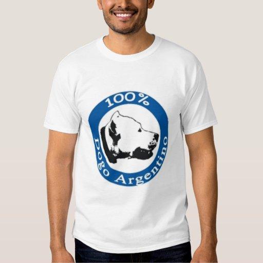 100% Dogo Argentino Tees
