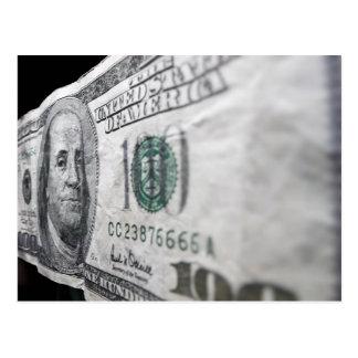 100 Dollar Bill (10) Postcard