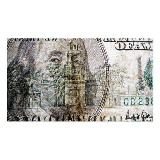 100 dollar bill business card templates bizcardstudio 100 dollar bill 3 business card colourmoves Image collections