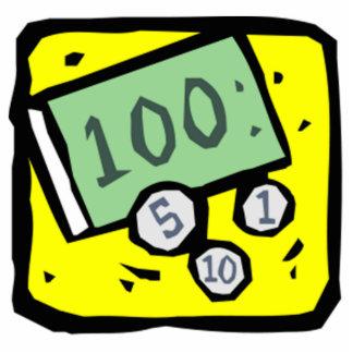 100 Dollar Bill Cutout