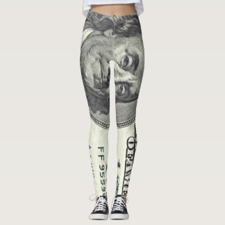 $100 Dollar Bill Leggings