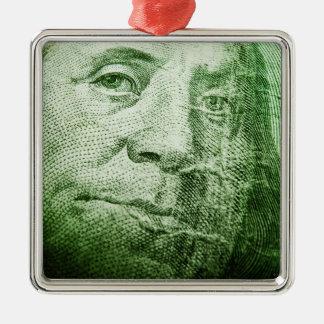 100 Dollar Bill Ornament