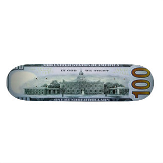100 Dollar Bill Skateboard Pro