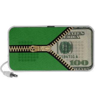 $100 Dollar Bill Travelling Speakers