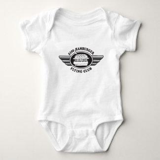 100 Dollar Hamburger - Flying Club Baby Bodysuit