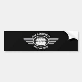 100 Dollar Hamburger - Flying Club Bumper Sticker