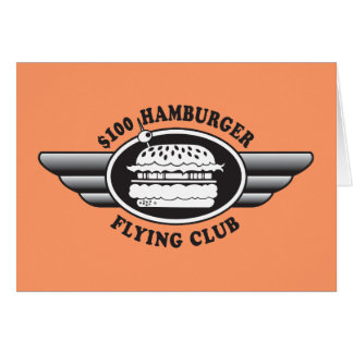 100 Dollar Hamburger - Flying Club Card
