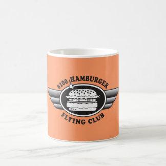 100 Dollar Hamburger - Flying Club Coffee Mug