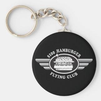 100 Dollar Hamburger - Flying Club Keychain