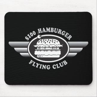100 Dollar Hamburger - Flying Club Mouse Pad