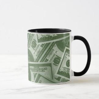$100 Dollar US Bills Cofee Mug
