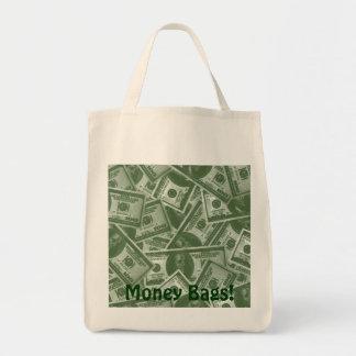 $100 Dollar US Bills Tote Bags