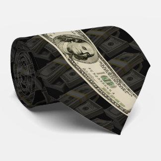 100 dollars tie