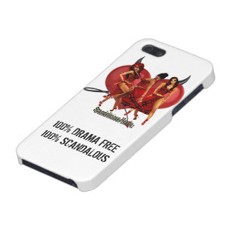 """100% DRAMA FREE 100% SCANDALOUS"" iPhone 5 Case"