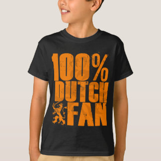 100% Dutch Fan Kids T-Shirt