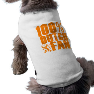 100% Dutch Fan Pet Clothing