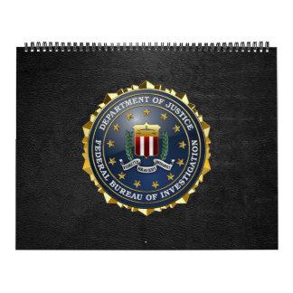 [100] Edición especial del FBI Calendarios De Pared