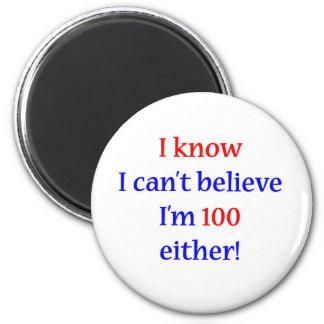 100 Either 2 Inch Round Magnet