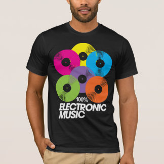 100% Electronic Music (dark) T-Shirt