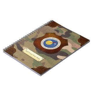 [100] Emblema de la NASA [3D] Spiral Notebook