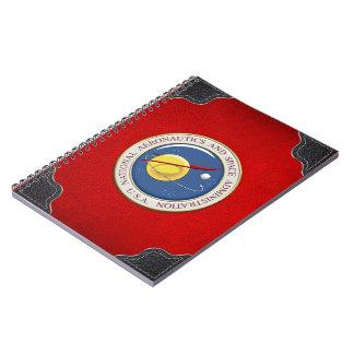 [100] Emblema de la NASA [3D] Notebook
