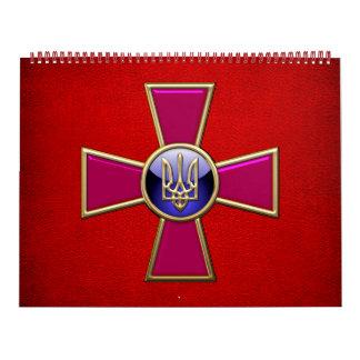 [100] Emblema de las fuerzas armadas de arma del Calendarios De Pared