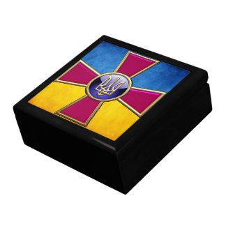 [100] Emblema de las fuerzas armadas de arma del u Cajas De Regalo