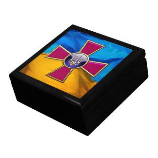 [100] Emblema de las fuerzas armadas de arma del u Caja De Regalo