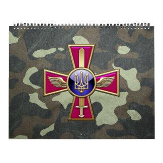 [100] Emblema ucraniano de la fuerza aérea Calendario