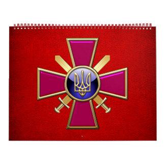 [100] Emblema ucraniano de las fuerzas de tierra Calendarios
