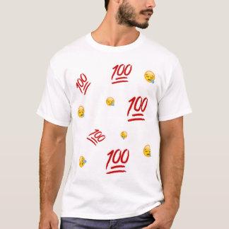 100 Emoji Graphic Top