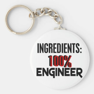 100% Engineer Keychain