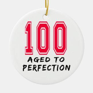 100 envejecieron al diseño del cumpleaños de la pe ornamento de reyes magos