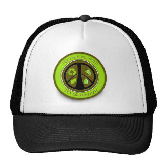 100% Equiped To Survive Prepper Shirts Hats