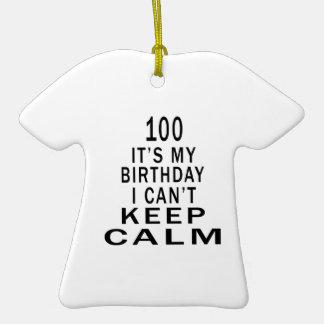 100 es mi cumpleaños que no puedo guardar calma ornamentos para reyes magos