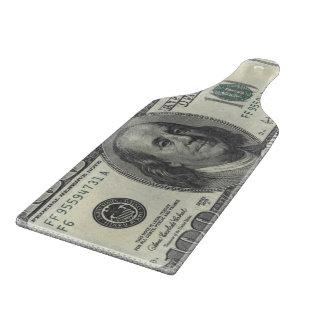 $100 Estados Unidos Bill Tabla De Cortar