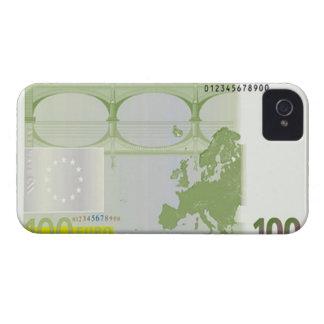 100 Euro Banknote Back Blackberry Bold Case