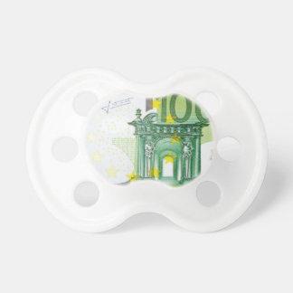 100 Euro Bills Pacifiers