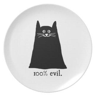 100 Evil Dinner Plate