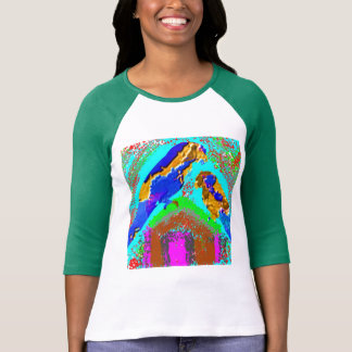 100 Exotic Golden Bird : Artistic Graphic Art T-Shirt