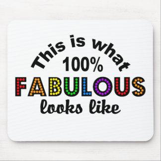 100% FABULOUS mousepad