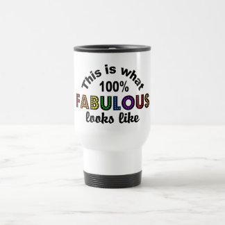 100% FABULOUS mug - choose style & color