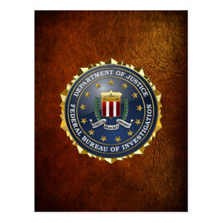 [100] FBI Special Edition Post Cards